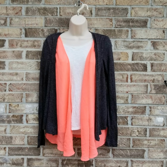 """BKE Sweaters - ( 3 for 45)BKE """" The Buckle"""" 》 Open Face Cardigan"""